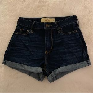 Hollister high rise short shorts